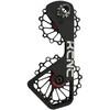 KCNC Jockey Wheel System - SUS para Shimano 10S/11S 14+16 dientes negro